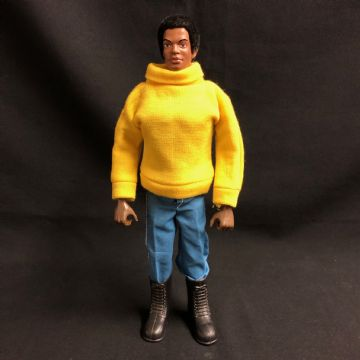 GEYPER MAN ACTION MAN - AVENTURERO NEGRO - BLACK ADVENTURER (Like Tom Stone)
